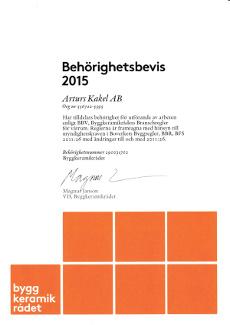 Behörig BKR 2015 (Arturs Kakel)