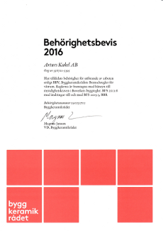 Behörig BKR 2016 (Arturs Kakel)